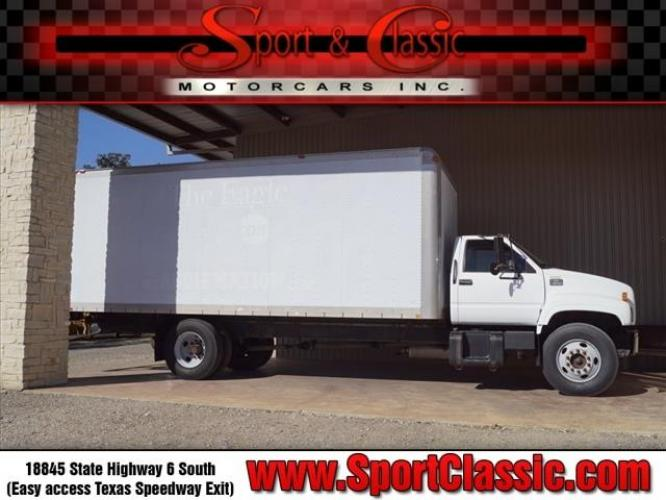 1998 White Chevrolet Truck (1GBJ7H1JXWJ) with an Not Specified Fuel Injected engine, 6-Speed Manual transmission, located at 18845 State Highway 6 South, College Station, TX, 77845, (979) 690-5300, 30.524399, -96.217979 - Photo #0